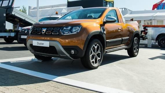 Компания Dacia начала продажи пикапов на базе кроссовера Duster