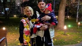 Вчера: Молодой супруг Леры Кудрявцевой опубликовал редкое семейное фото с дочкой