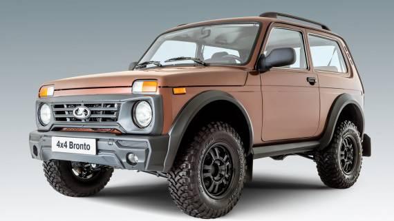 В Китае заметили необычную Lada 4x4