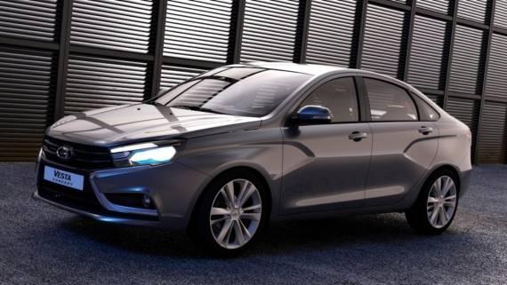 В Сети появились первые изображения новой Lada Vesta FL