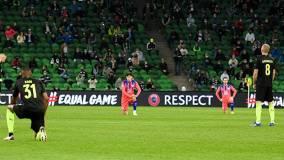 УЕФА прокомментировал отказ игроков «Краснодара» поддержать BLM в матче с «Челси»