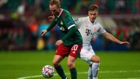 «Локомотив» уступил «Баварии» в матче Лиги чемпионов