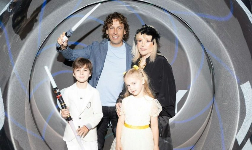 Максим Галкин показал детей на праздновании дня рождения дочери Игоря Николаева