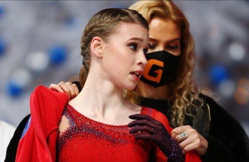 Фигуристка Майя Хромых поблагодарила тренерский штаб за победу на Budapest Trophy