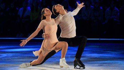 Агата Муцениеце поддержала Ксению Бородину после критики жюри в шоу «Ледниковый период»