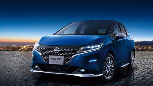 """""""Кроссоверный"""" компактвэн Nissan Note Autech Crossover представлен на японском рынке"""