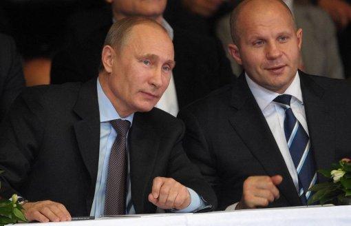 Путин не станет посещать бой с участием Федора Емельяненко