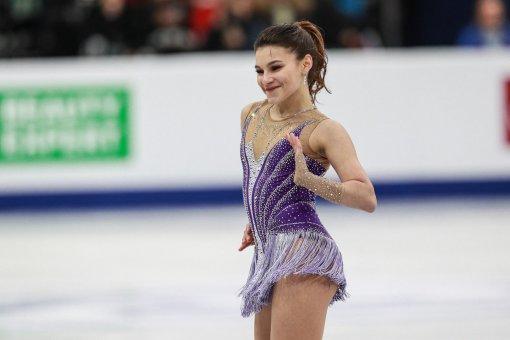 Фигуристка Софья Самодурова высказалась о лучших вращениях на чемпионате в Венгрии