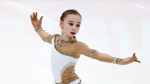 Фигуристка Вероника Жилина возобновила тренировки после травмы ноги