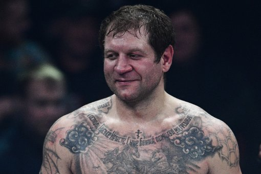 Боец Александр Емельяненко станцевал на собственной тренировке