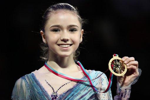 Камила Валиева выразила благодарность тренерскому штабу после победы на турнире Finlandia Trophy