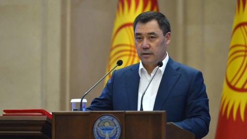 Президент Киргизии объяснил причины массовых беспорядков в октябре 2020 года