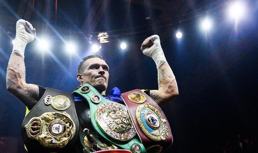 Боксёр Энтони Джошуа возможно проведёт бой-реванш с Усиком весной 2022 года