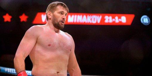 Боец Виталий Минаков отказался от идеи завершать карьеру и хочет вернуться в Bellator