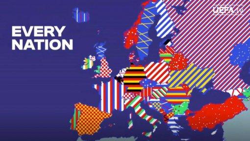 УЕФА включил Крым в состав Украины на презентации логотипа чемпионата Европы 2024 года