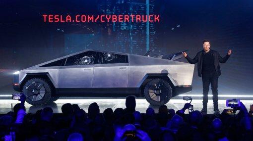Прошли испытания улучшенной версии пикапа Cybertruck от компании Tesla