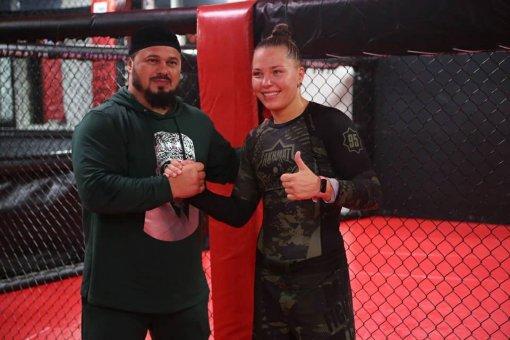 Девушка-боец Ирина Алексеева высказалась о своем дебюте в Bellator