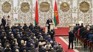 В Кремле воздержались от комментариев инаугурации Лукашенко