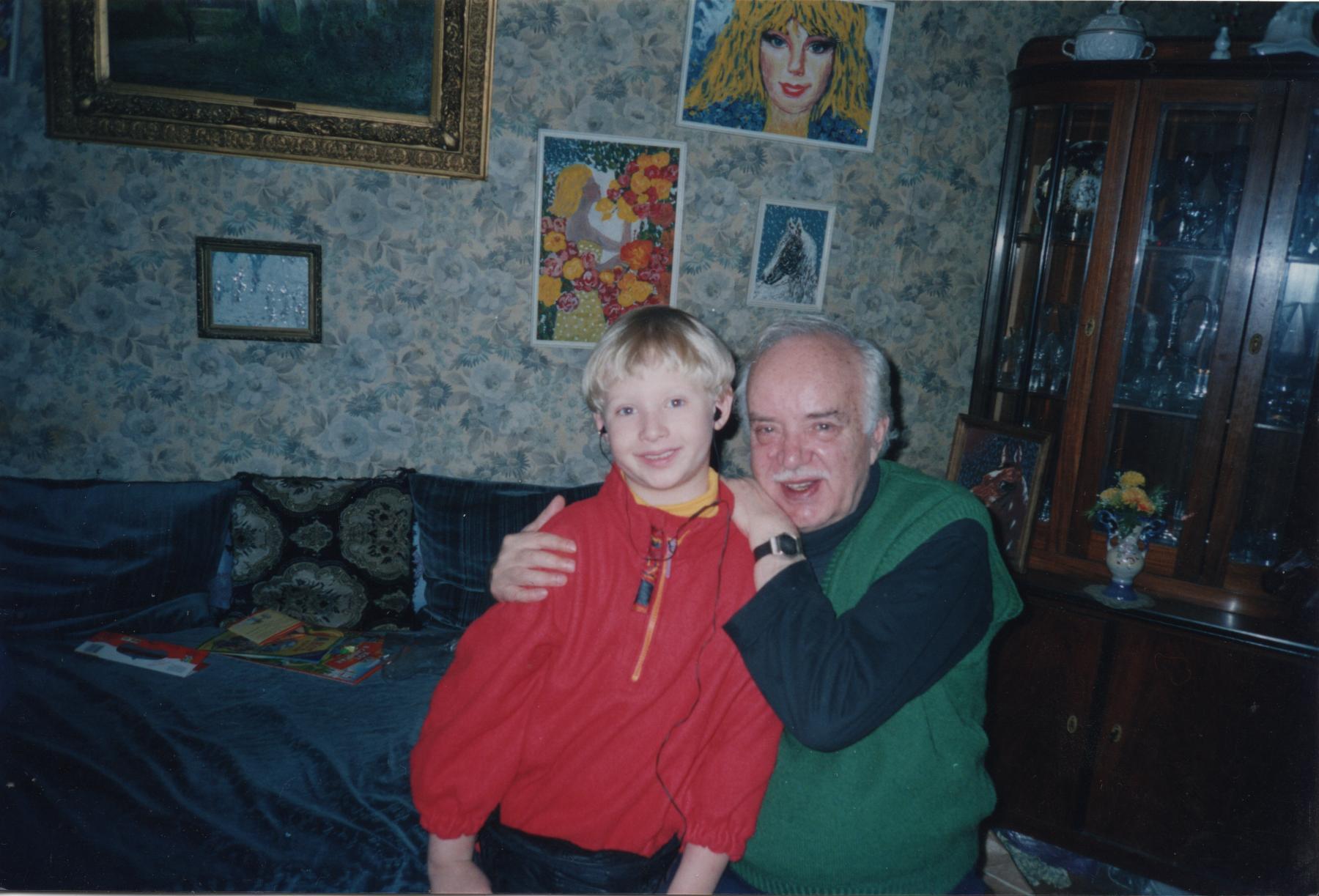 Илья Борецкий с Юрием Борецким