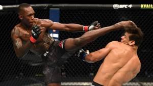 Адесанья нокаутировал Косту, защитив титул чемпиона UFC в среднем весе