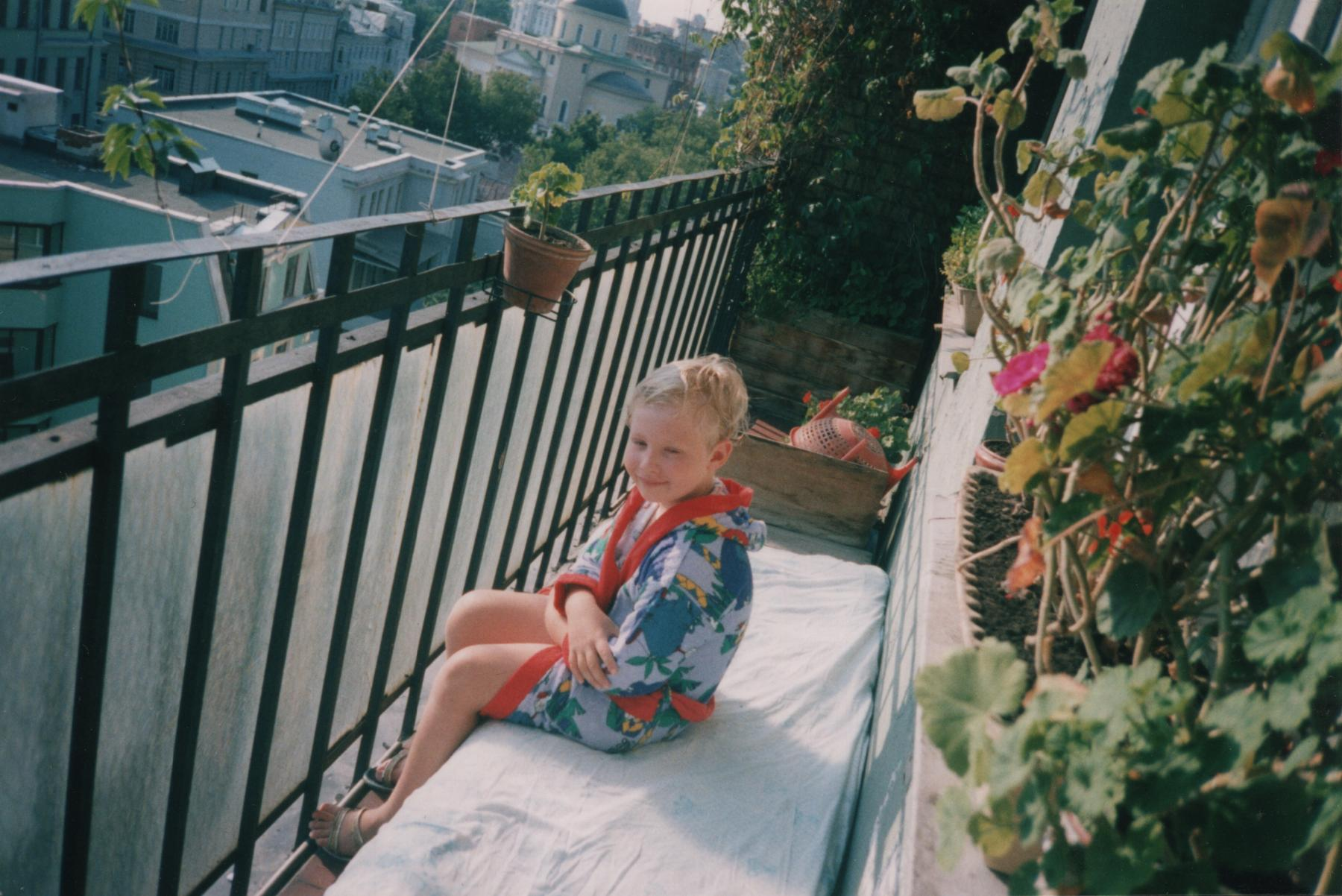 Илья Борецкий в квартире на Никитском бульваре