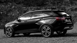 «АвтоВАЗ» представил новую версию Vesta Cross Black