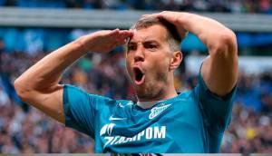 РФС признал Дзюбу лучшим игроком прошлого сезона