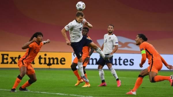 Сборная Италии обыграла Нидерланды в Лиге наций