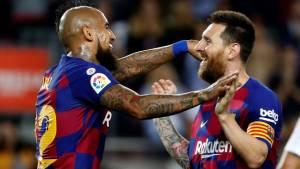 Видаль назвал Месси величайшим футболистом в истории