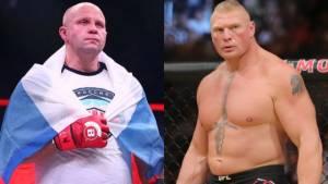 В Bellator заинтересованы в проведении боя Емельяненко с Леснаром