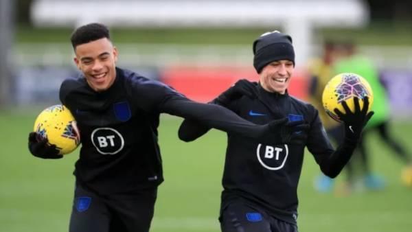 Филипп Фоден и Мэйсон Гринвуд исключены из сборной Англии
