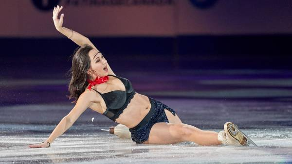 Туктамышева выиграла контрольные прокаты в Санкт-Петербурге