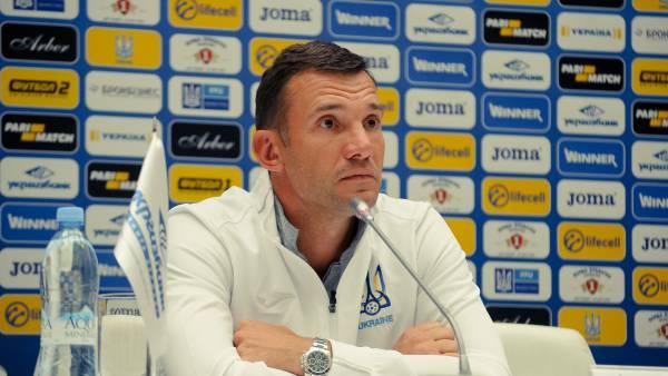 Тренер сборной Украины Шевченко назвал причины поражения от Испании