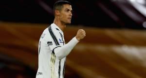 «Ювентус» сыграл вничью с «Ромой», Роналду оформил дубль