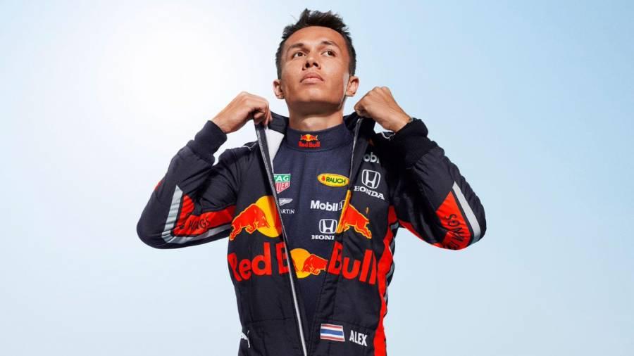 Албон: Команда Red Bull поддерживает меня