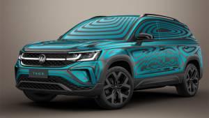 Volkswagen показал кроссовер Taos. Его будут выпускать в России
