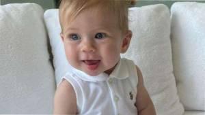 Теннисистка Анна Курникова показала 6-месячную дочь