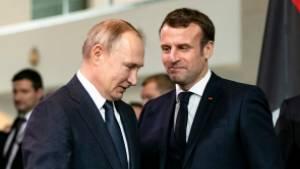 Песков оценил публикацию французских СМИ о разговоре Путина с Макроном