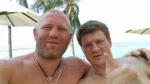 Вчера: Харитонов рассказал, как Поветкин посылал его в нокдауны