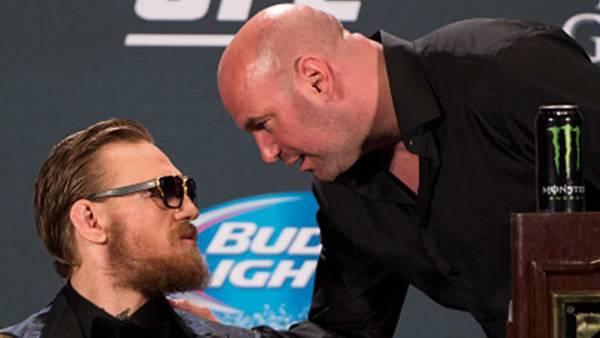 Президент UFC Уайт назвал грязным поступок Макгрегора в отношении него