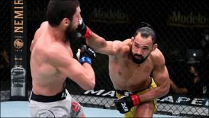 Ударивший соперника перед поединком боец UFC Имадаев проиграл бой