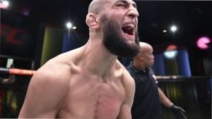 Чимаев и Дерн получили бонусы за турнир UFC Fight Night 178