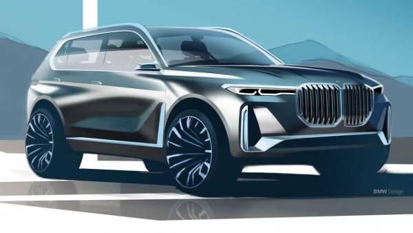 Большой вседорожник BMW X8 впервые засветился на фото