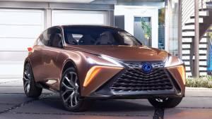 Lexus зарегистрировал в России новый кроссовер