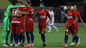 В матче отборочного раунда Лиги Европы команды забили 12 голов с игры