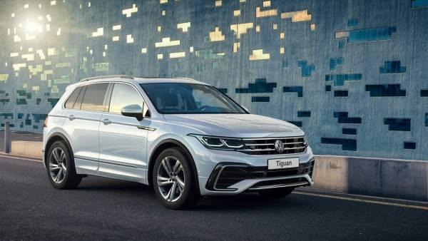Обновленный Volkswagen Tiguan получит в России четыре комплектации