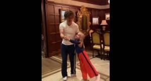 Максим Галкин опубликовал видео, где танцует танго с 7-летней дочерью