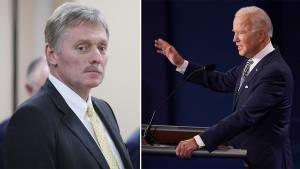 Песков отказался оценивать слова Байдена о Трампе