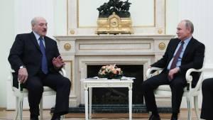 Лукашенко попросил Путина о некоторых типах вооружений