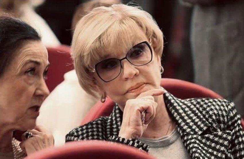 Актриса Вера Алентова впервые появилась в обществе после смерти мужа Владимира Меньшова